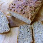 World Bread Day 2011. Bread whit hemp. Chleb z mąką konopną na Światowy Dzień Chleba.
