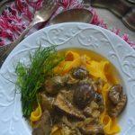 Kiedy lato przechodzi w jesień…Grzybowe ragout z mascarpone i domowe tagliatelle