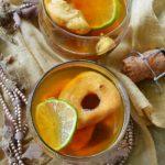 Kruszon z suszonymi owocami i krupnikiem na pożegnanie i powitanie