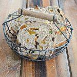 Chleb owocowy w grudniowej Piekarni. Rok wspólnego pieczenia!