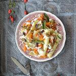 Lazania z dynią, gorgonzolą i pistacjowym pesto. Pasta e Vino!