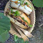 Bánh mì i marynowane warzywa, czyli kanpaka na weekend!