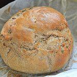 Chleb z garnka z tymiankiem. Najprostszy w czerwcowej Piekarni