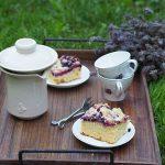Slowpresso czyli kawa w rytmie slow. I ciasto z jagodami i kruszonką