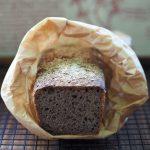 Chleb orkiszowo kasztanowy na zakwasie. Piekarnia w sierpniu