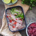 Ceviche z tuńczyka. Dla Niej i dla Niej