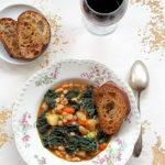Ribollita toscana. Wiejska zupa z Toskanii