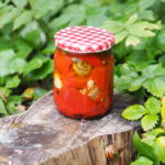 Pieczona papryka w oliwie z kaparami i anchois. Najlepszy przepis!