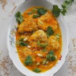 Kurczak w sosie z dynią, imbirem i kremem kokosowym. Obiad dla Niej i dla Niego
