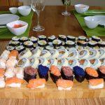 Sushi party i wróżba z chińskiego ciasteczka.
