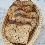 Chleb jabłkowy z Normandii. Piekarnia pachnąca wrześniem