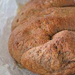 Chleb orkiszowy ubijany. Lutowe wypiekanie