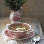 Kremowa zupa z kasztanów. Sezonowe smaki