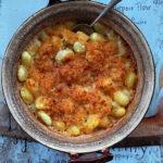 Gnocchi pieczone z trzema serami. Fragment…