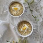 Krem chrzanowy z ziemniakami i jajkiem. Wielkanocna zupa mocy