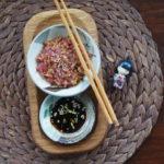 Tatar z tuńczyka.  Orientalny domowy piknik