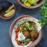 Falafel, Pita i Harrisa. Arabska kanapka numer dwa!