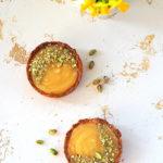 Mazurki z kremem cytrynowym i pistacjami. WielkaNoc!