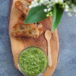 'Pesto' z liści rzodkiewki. Zero waste cooking!