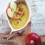 Zupa z jabłkiem, porem i białym winem. Jabłka Grójeckie na stoły!