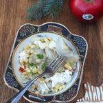 Wigilijne śledzie z jabłkiem, śmietaną, cynamonem i białym pieprzem