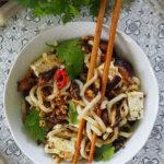 Tofu, shiitake, udon & Co. Miska dobroci