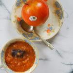 Konfitura z jabłek i żółtych pomidorów