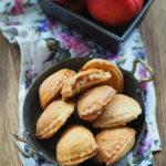 Ciastka krucho – drożdżowe  z jabłkami, cynamonem i imbirem