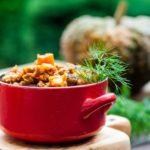 Ragù wołowe z dynią. Listopadowy slow cooking