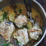 Kurczak z grzybami i cytryną. Olej rzepakowy skarbem Europy