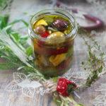 Marynowane oliwki z czosnkiem, cytryną i ziołami. Viva la Sicilia!