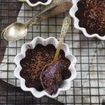 Włoski budyń czekoladowy z kąpieli wodnej