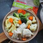 Ryba z warzywami sous vide. Lekko na wiosnę