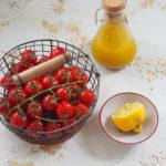 Pomidorki mini marynowane we włoskim sosie sałatkowym